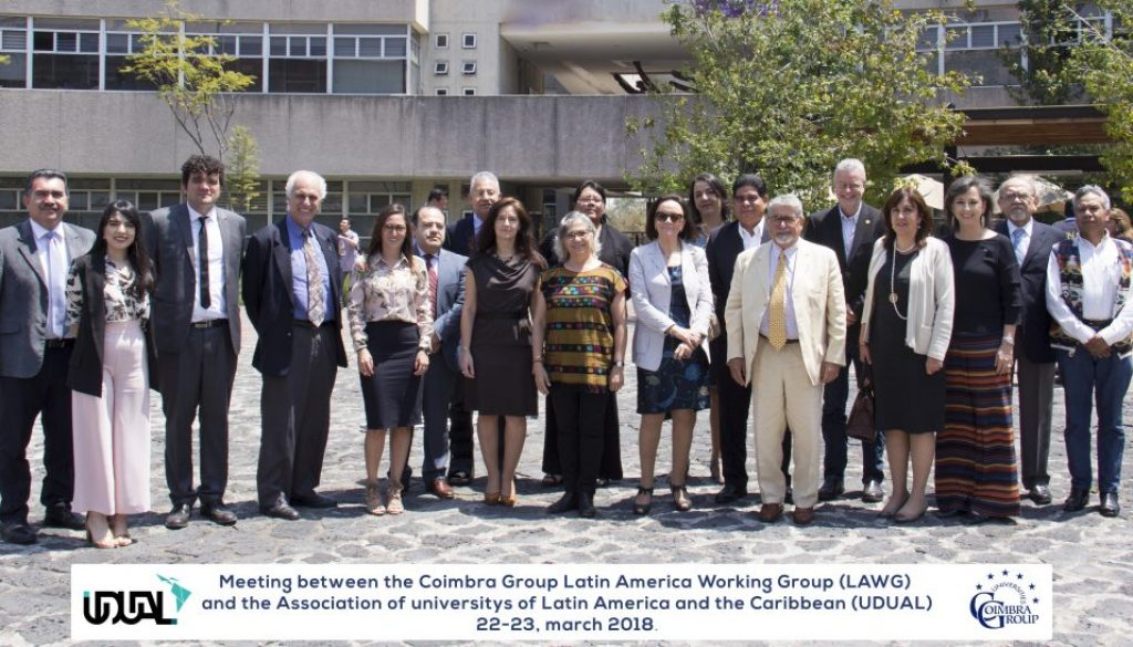 La UDUAL y el Grupo Coimbra de Universidades Europeas construyen puentes para  la cooperación internacional a292d812d7229