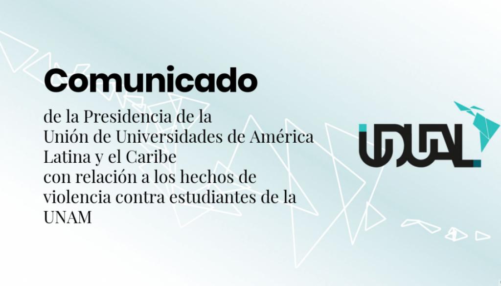 Comunicado-violencia-UNAM